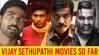 Vijay Sethupathi Movies List   Yuga Movies So Far  Vijay Sethupathi