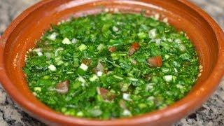 Aji Casero / Colombian Green Sauce Recipe