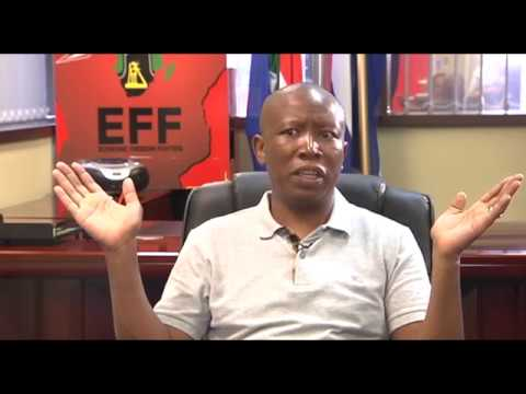 FULL INTERVIEW: Julius Malema talks land issue, Mbalula and others