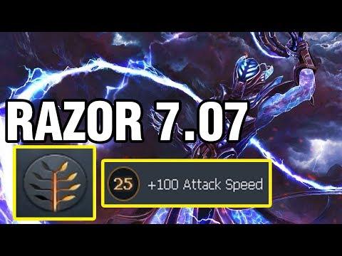 RAZOR 7.07 - Meracle Plays Razor - Dota 2