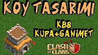 KB 8 Ganimet + Kupa Efsane Düzeni #1 Clash Of Clans