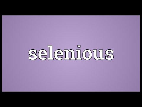 Header of selenious