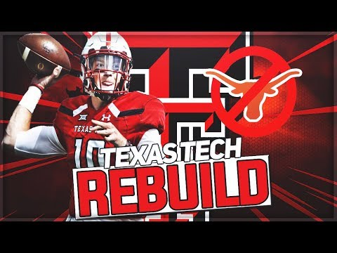 Rebuilding Texas Tech | New Texas Football Powerhouse | NCAA Football 14