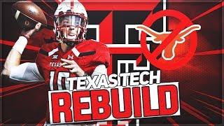 Rebuilding Texas Tech | New Texas Football Powerhouse | NCAA Football 14