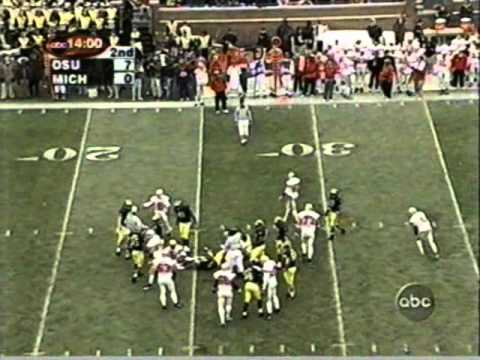 1999: Michigan 24 Ohio State 17 (PART 1)