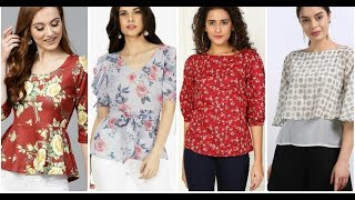LATEST WOMEN TOPS / BLOUSES FOR 2019/ HOW TO PAIR YOUR TOPS WITH PANTS IN STYLE