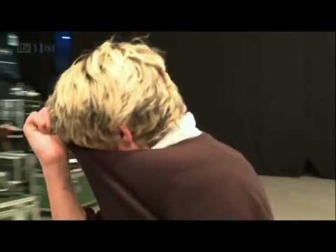 Niall Horan, Harry Styles & Liam Payne Crying - Xfactor [HD]