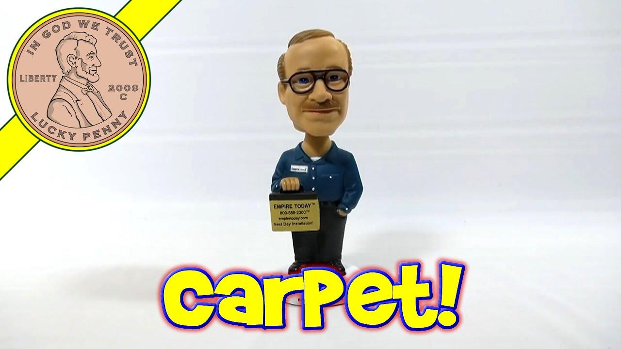 Empire Carpet Man Collectible Bobble Head - Empire Today ...