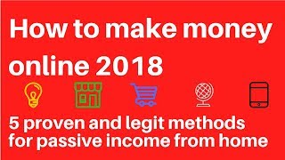How to make money online 2018 here are the proven ways do it: #1 - amazon mturk hit jobs mechanical turk (mturk) operates a marketplace for work ...