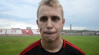 Колбунцов — о матче с «Каспием»