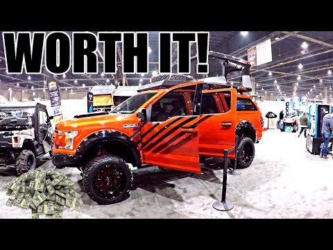 THIS EXPENSIVE TRUCK IS BETTER THAN THE  FORD RAPTOR!!