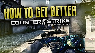 How to get better at CS:GO - Aim, Crosshair & Game sense!