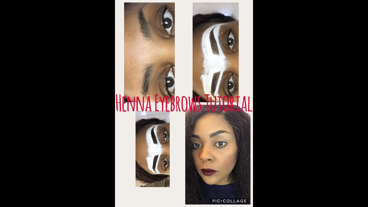 Henna Eyebrows Keep Them Set For 6 Weeks Youtube