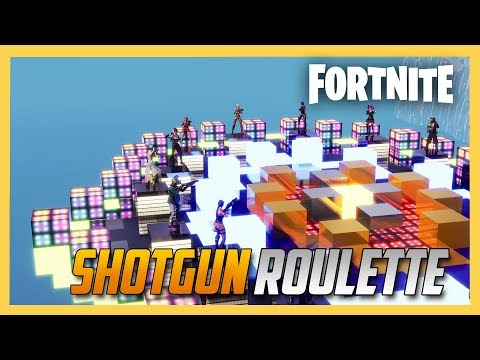 Fortnite Creative Shotgun Roulette! New Map, More Danger! | Swiftor