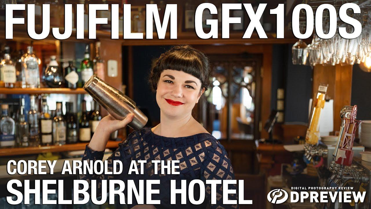 Fujifilm GFX 100S: Corey Arnold at the historic Shelburne Hotel