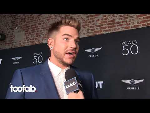 Adam Lambert Found Out Aaron Carter Is Bisexual - toofab