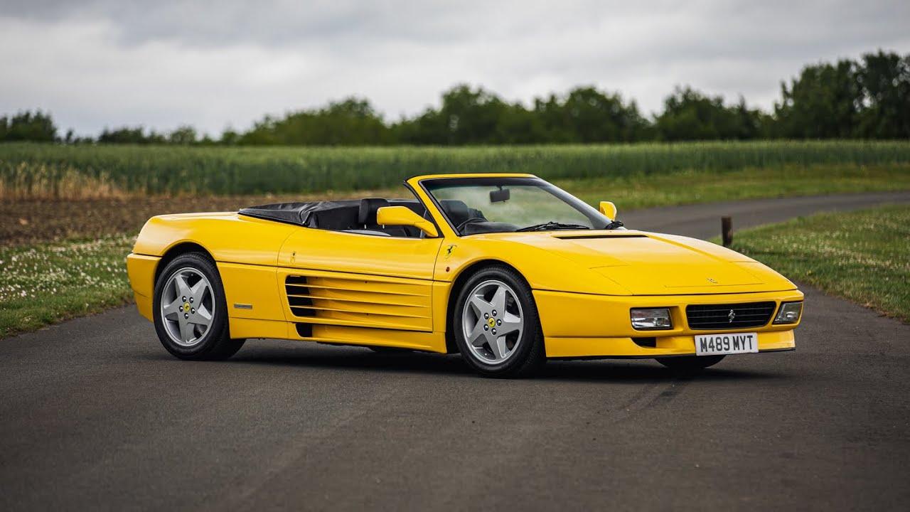 Lot 392 1994 Ferrari 348 Spider Youtube