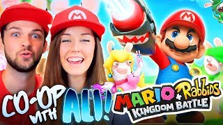 👫CO-OP WITH ALI!👫 -  Mario + Rabbids Kingdom Battle! 🍄#2