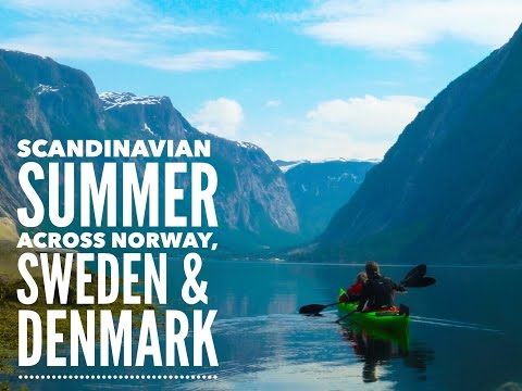 LifeinourVan - Europe Adventure - Part 4 (Scandinavian Summer)