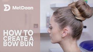 HOW TO CREATE A BOW BUN {Cute Hair Tutorial}   by Metdaan