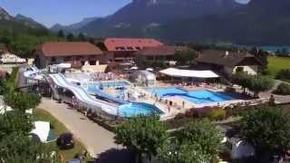 Camping l'Idéal lac Annecy Haute Savoie Mont Blanc lac montagnes