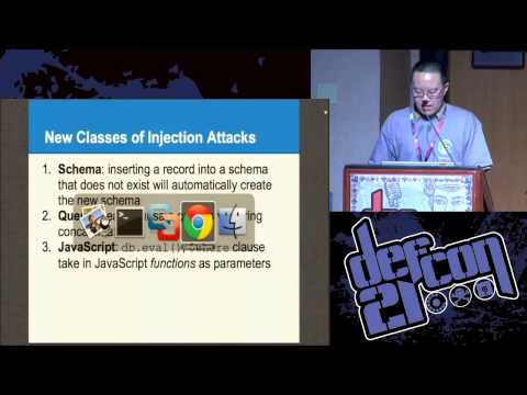DEF CON 21 - Ming Chow - Abusing NoSQL Databases