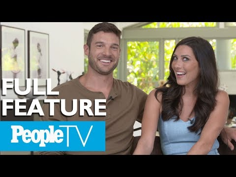 'The Bachelorette's' Becca & Garrett Dish On The Show, Their Engagement & More (FULL) | PeopleTV