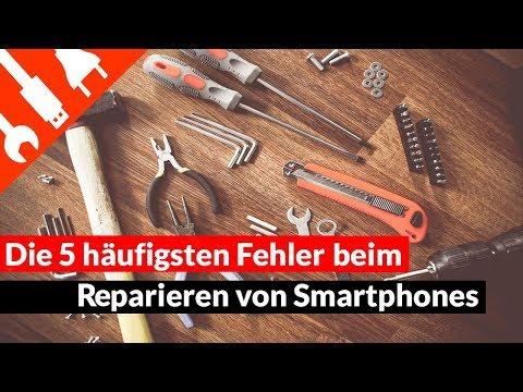 Smartphone Reparatur: Die 5 häufigsten Fehler