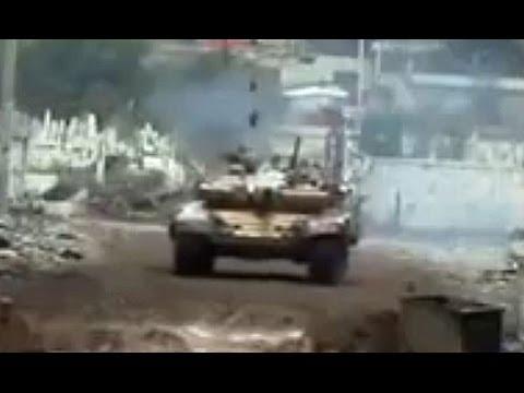 ᴴᴰ Tanques - Darayya Siria - El poderoso T-72 incursiones. (36m)