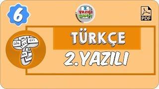 6. Sınıf Türkçe | 1. Dönem 2. Yazılıya Hazırlık