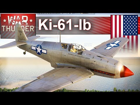 Ki-61-lb - niby amerykaniec - BITWA - War Thunder