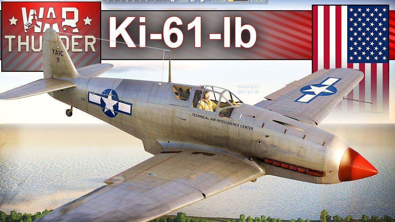Ki-61-lb – niby amerykaniec – BITWA – War Thunder