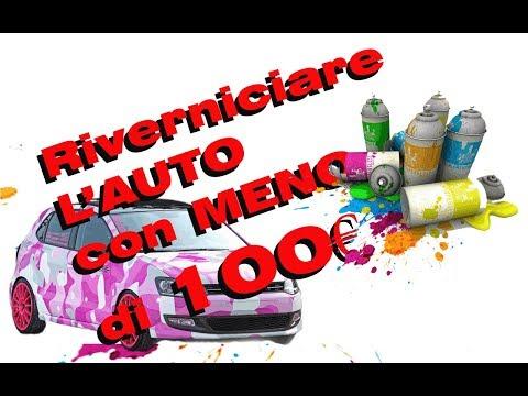 Riverniciare L'Auto Con Meno Di 100€
