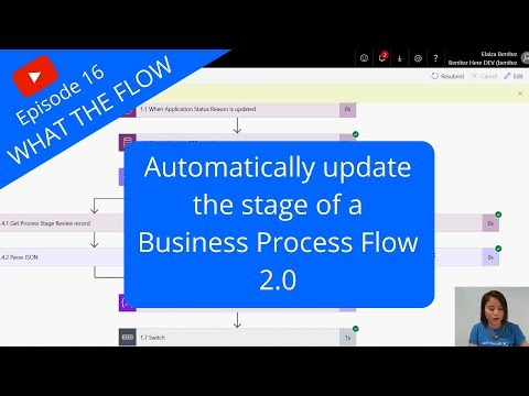 Automatically update the stage of a Business Process Flow 2.0 thumbnail