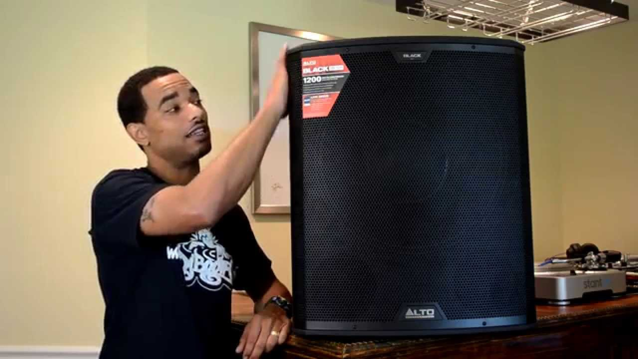 Alto Professional Black 18sub 18s Powered Subwoofer Review