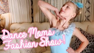 Trying on Chloe's Dance Moms Costumes! Clara's World