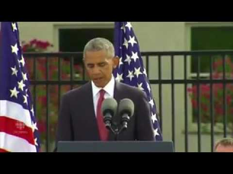 Barack Obama's 9 11 remarks /news