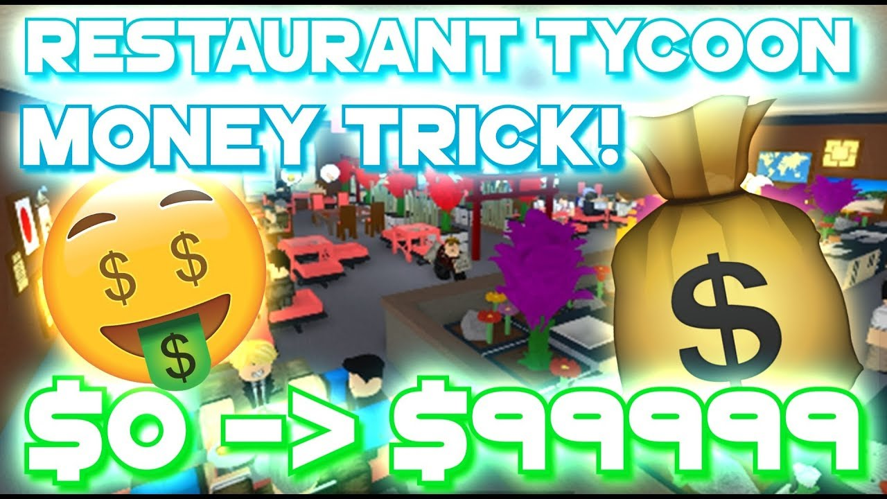 Roblox Restaurant Tycoon How To Get Millions Of Money Cash