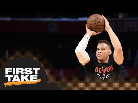 Stephen A. Smith puts blame on Blake Griffin for failure of Clippers | First Take | ESPN