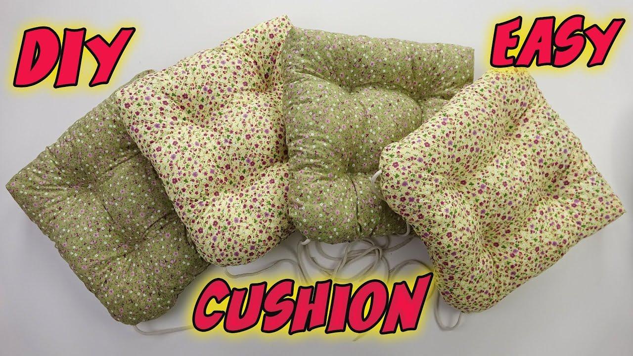 EN KOLAY VE ŞIK MİNDER YAPIMI! (Minder Nasıl Yapılır) / Easiest Chair Cushion Sewing / DIY Cushion