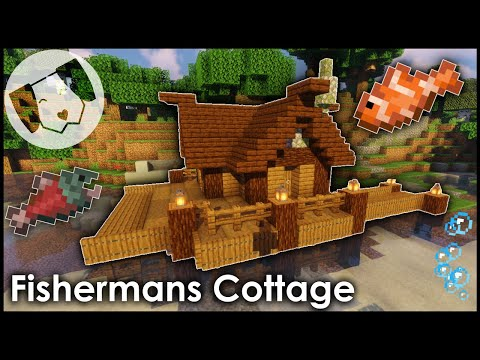 Minecraft: Fishermans Cottage Tutorial!