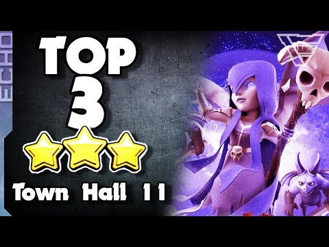 TOP 3 Best Town Hall 11 Attack Strategies In Clash Of Clans
