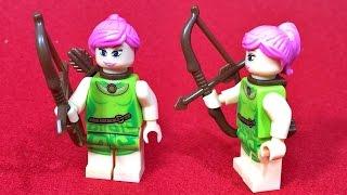 SY 클래시오브클랜 아처 게임 캐릭터 레고 짝퉁 미니피규어 조립 리뷰 Lego Clash of Clans Archer