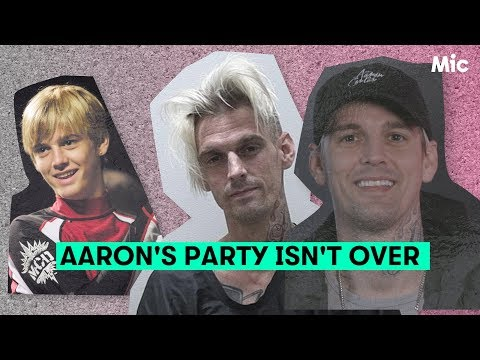Aaron Carter's finally back — and talking mental health, Trump and his bisexuality