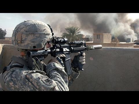 US Soldiers in Iraq. Rare Combat Footage - Intense Firefights | Iraq War 2007