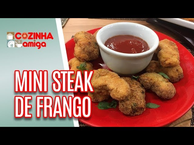 Mini Steak de Frango - Gabriel Barone | Cozinha Amiga (04/01/19)