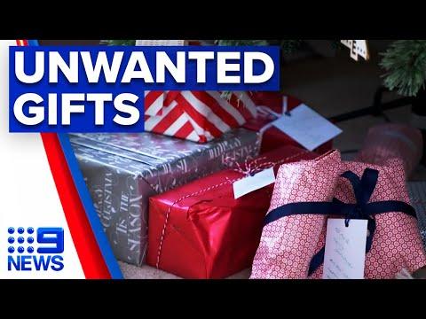 Savvy sellers offload unwanted Christmas gifts   9 News Australia thumbnail
