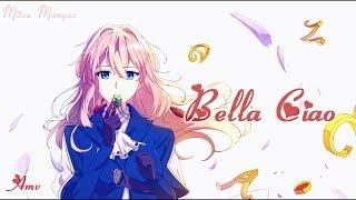 Nightcore French Amv ♪ Bella Ciao -  Cover Djena Della ♪ + Paroles et Traduction HD