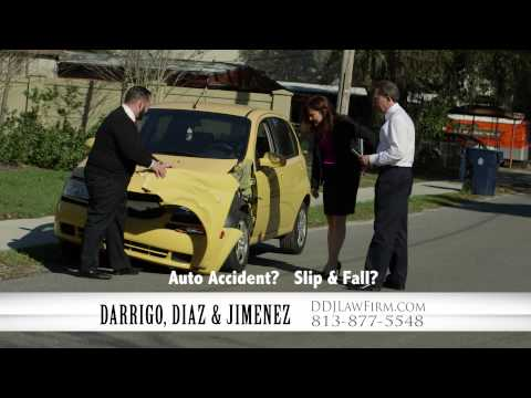 """Darrigo, Diaz & Jimenez Personal Injury Attorneys in Tampa """"Only One"""""""