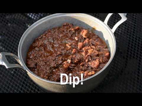 How To Make Slow-Cooker Barbeque Goose Breast Dip